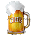 """Фото №1: Шар """"Кружка Пива"""" 86 см"""