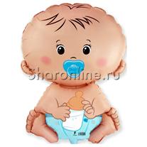 Шар Малыш мальчик 66 см
