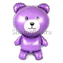 Шар Мишка фиолетовый 91 см