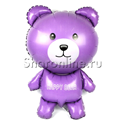 Фото №1: Шар Мишка фиолетовый 91 см