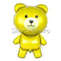 Шар Мишка желтый 91 см