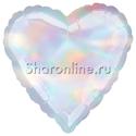 Фото №1: Шар Сердце Перламутр 46 см