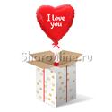 "Фото №1: Коробка-сюрприз  ""I Love You"" Сердце красное"