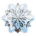 """Фото №1: Шар """"Снежинка белая"""" 45 см"""