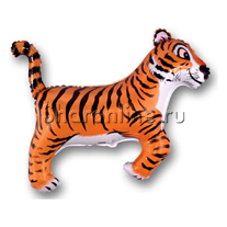 """Шар """"Тигр"""" черный 94 см"""