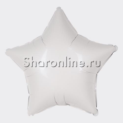 Фото №1: Шар Звезда белая 46 см