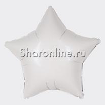 Шар Звезда белая 46 см