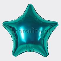 Шар Звезда Бирюзовая 46 см