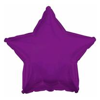 Шар звезда фиолетовая 46 см