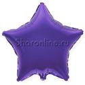 Фото №1: Шар звезда фиолетовая 46 см
