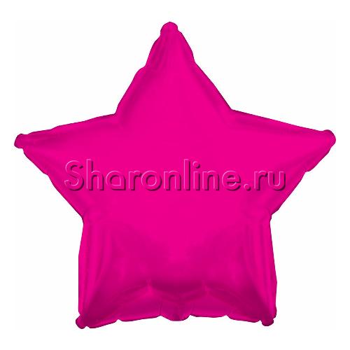 Фото №1: Шар Звезда фуше 46 см