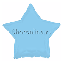 Шар Звезда голубая 46 см