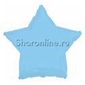 Фото №1: Шар Звезда голубая 46 см