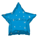 Фото №1: Синий шар Звезда Искры