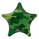 Фото №1: Шар Звезда Камуфляж 46 см