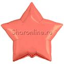 Фото №1: Шар Звезда коралловая 46 см