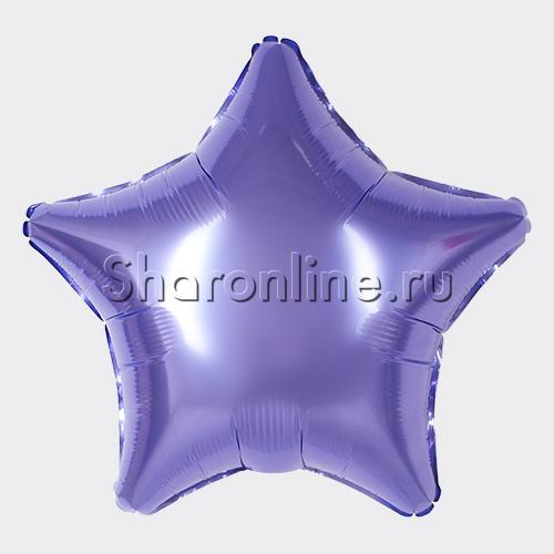 Фото №1: Шар Звезда цвета лаванда