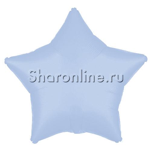 Фото №1: Шар Звезда Лиловая сатин 53 см