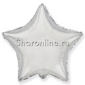 Фото №1: Шар Звезда серебряная 81 см