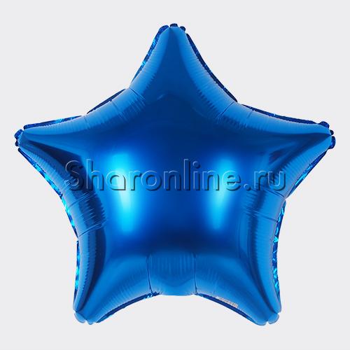 Фото №1: Шар Звезда синяя 46 см