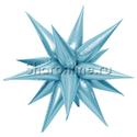 Фото №1: Шар Звезда составная голубая 66 см