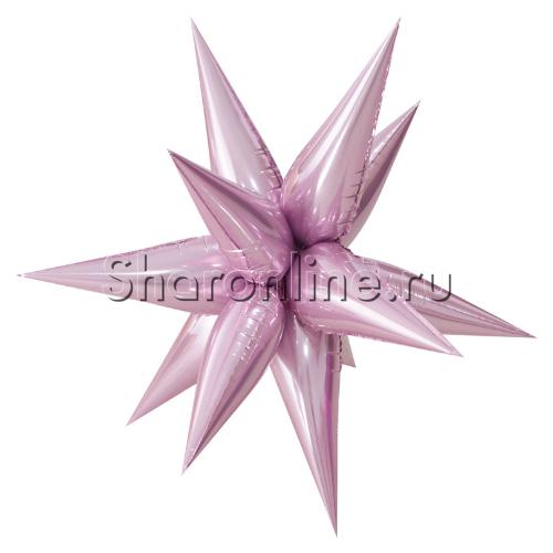 Фото №1: Шар Звезда составная розовая 66 см