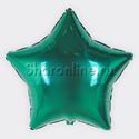 Фото №1: Шар Звезда зеленая 81 см