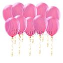 Фото №1: Мраморные розово-сиреневые шары