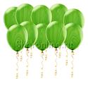 Фото №1: Мраморные зеленые шары