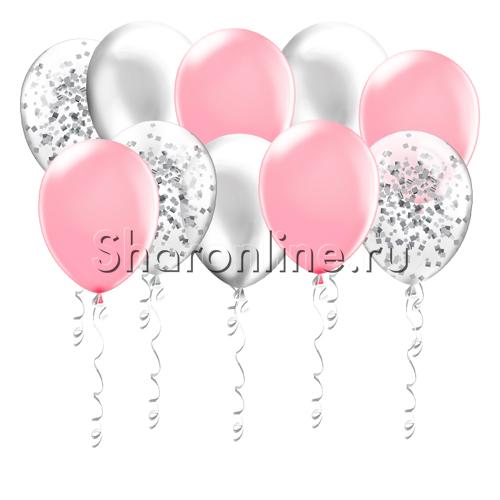 Фото №1: Шары Розовая дымка