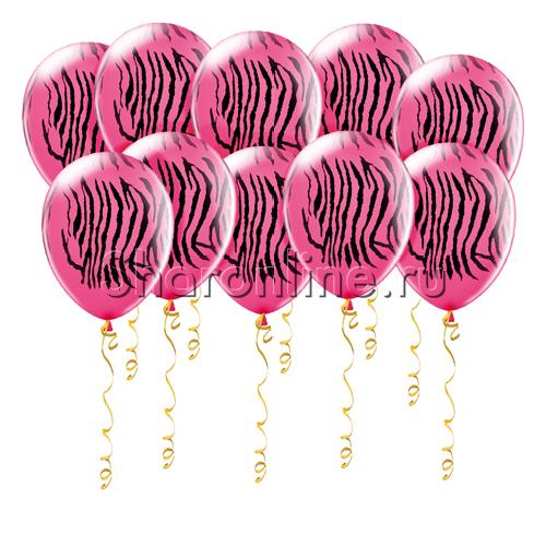 Фото №1: Шары Розовая зебра