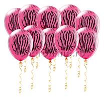 Шары Розовая зебра
