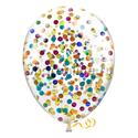 Фото №2: Шары с круглым разноцветным конфетти