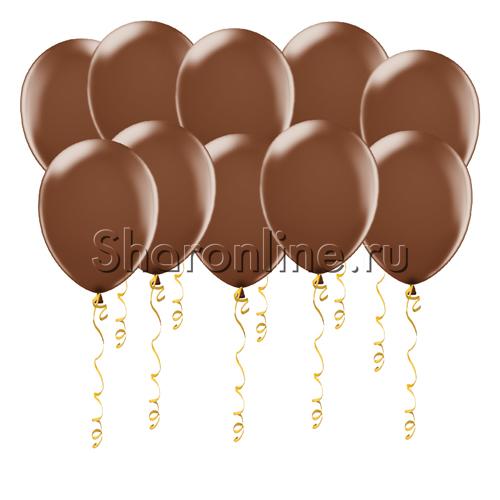 Фото №1: Шары шоколадного цвета