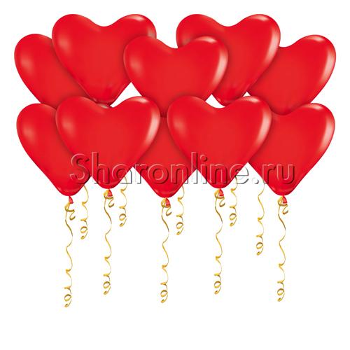 Фото №1: Шары в виде Сердца 30 см