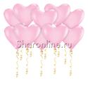Фото №1: Шары в виде Сердца Розовые 30 см