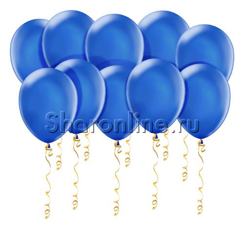 Фото №1: Синие шары