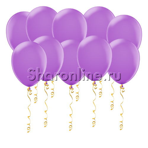 Фото №1: Сиреневые шары