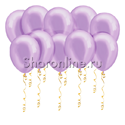 Фото №1: Сиреневые шары металлик