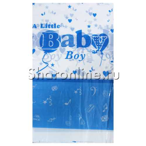 "Фото №1: Скатерть ""Baby Boy"" 108x180см"