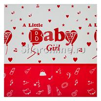"Скатерть ""Baby girl"" 108x180см"