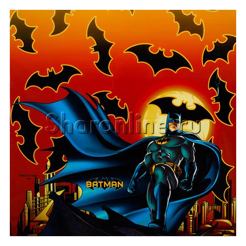 """Фото №1: Скатерть """"Бэтмен"""" 120х180 см"""
