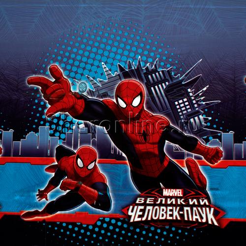 """Фото №1: Скатерть """"Человек-паук"""" 108x180см"""