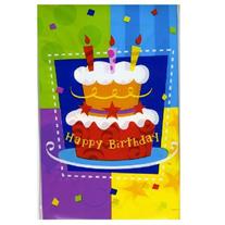 "Скатерть ""Happy Birthday"" торт 54х72 см"