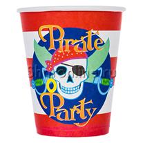 """Стаканчики """"Пираты"""" 190мл 6шт"""