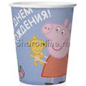 """Фото №1: Стаканчики """"Свинка Пеппа"""" 6 шт"""