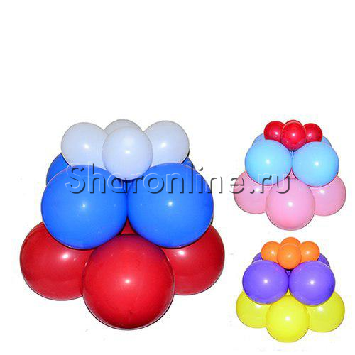 Фото №1: Стойка из шаров