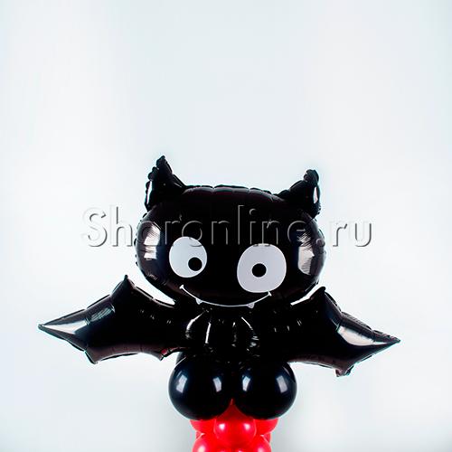"""Фото №2: Столбик из шаров """"Летучая мышь"""""""