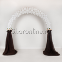 "Фото №1: Свадебная арка ""Белый шоколад"""