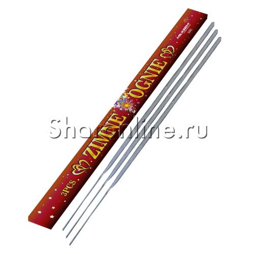 Фото №1: Свечи бенгальские 3 шт 70 см